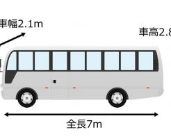 マイクロバスのサイズ