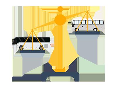 マイクロバスと中型バスどっちが安い?